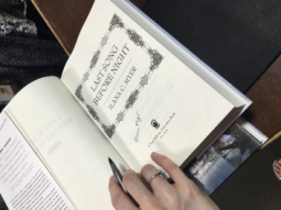 Ilana book signing